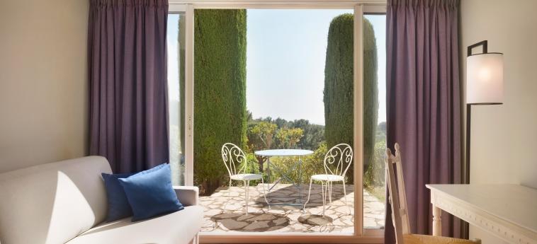 Hotel Dolce Fregate Provence: Balcony SAINT CYR SUR MER