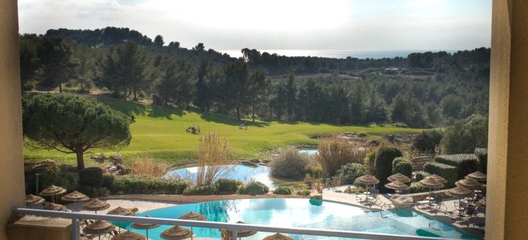 Hotel Dolce Fregate Provence: Vista SAINT CYR SUR MER