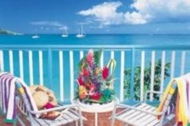 Hotel Grand Case Beach Club: Terraza SAINT MARTIN