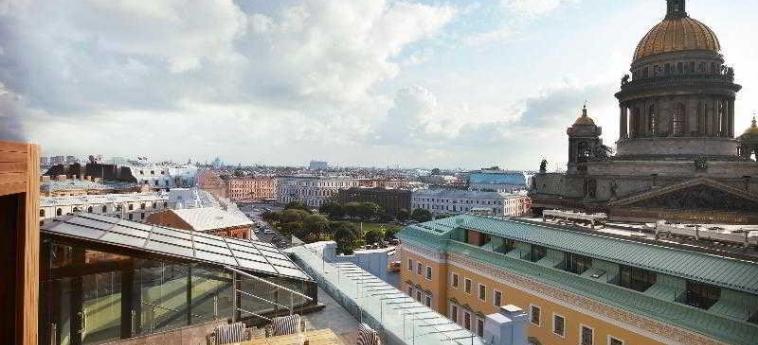 Hotel So Sofitel St Petersburg: Terrasse SAINT-PETERSBOURG