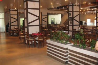 Hotel Azimut : Restaurant SAINT PETERSBURG