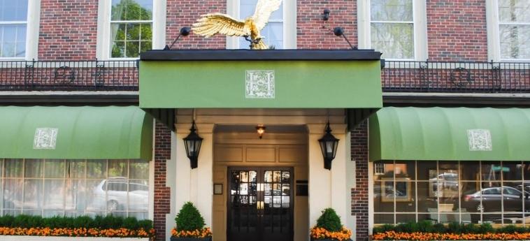 Hotel Hawthorne : Eingang SALEM (MA)