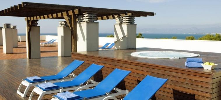 Hotel H10 Mediterranean Village: Terraza SALOU - COSTA DORADA