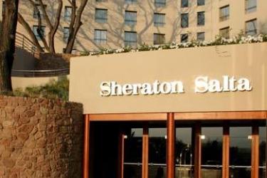 Hotel Sheraton: Entrata SALTA