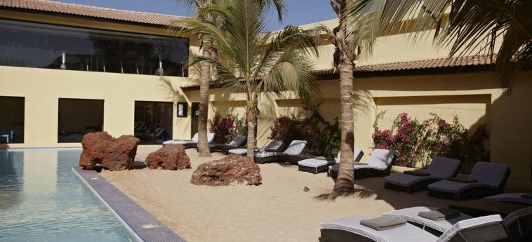 The Rhino Resort Hotel & Spa: Piscine chauffée SALY PORTUDAL