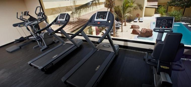 The Rhino Resort Hotel & Spa: Salle de Gym SALY PORTUDAL
