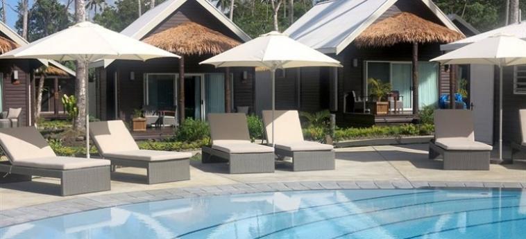Hotel Saletoga Sands: Piscine Découverte SAMOA
