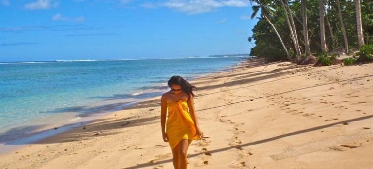 Hotel Saletoga Sands: Beach SAMOA