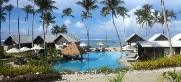 Hotel Saletoga Sands: Outdoor Restaurant SAMOA