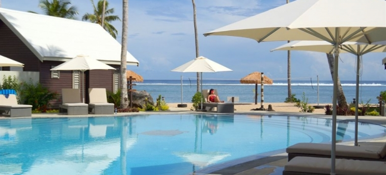 Hotel Saletoga Sands: Outdoor Swimmingpool SAMOA
