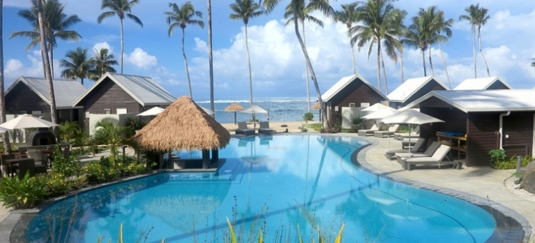 Hotel Saletoga Sands: Winter Garden SAMOA