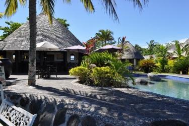 Hotel Le Lagoto Resort: Piscine Découverte SAMOA