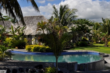 Hotel Le Lagoto Resort: Piscine extérieure SAMOA