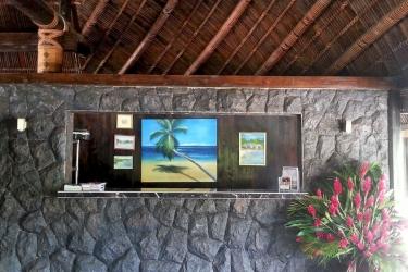 Hotel Le Lagoto Resort: Reception SAMOA