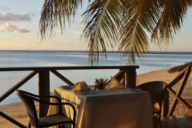 Hotel Le Lagoto Resort: Repas en plein air SAMOA