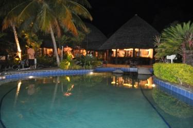 Hotel Le Lagoto Resort: Aussen Pool SAMOA