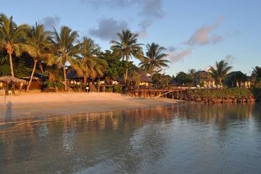 Hotel Le Lagoto Resort: Außen Platz SAMOA