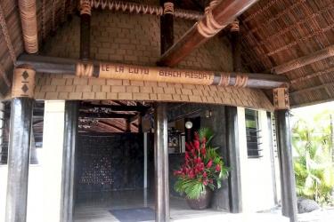 Hotel Le Lagoto Resort: Eingang SAMOA