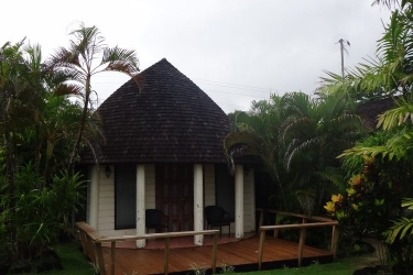 Hotel Le Lagoto Resort: Gastzimmer Blick SAMOA