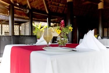 Hotel Le Lagoto Resort: Restaurant SAMOA