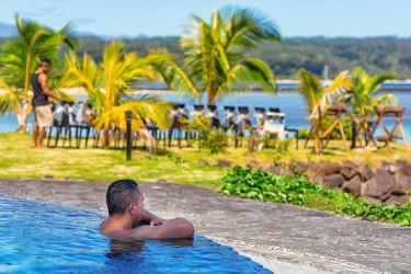 Hotel Le Lagoto Resort: Sport Anlage SAMOA