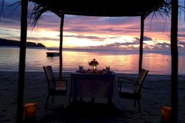 Hotel Le Lagoto Resort: Strand SAMOA