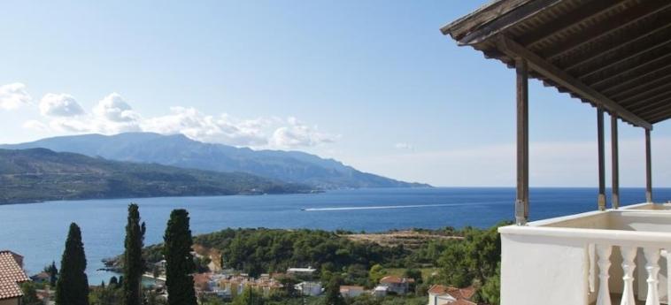 Hotel Ino Village: Aussicht SAMOS