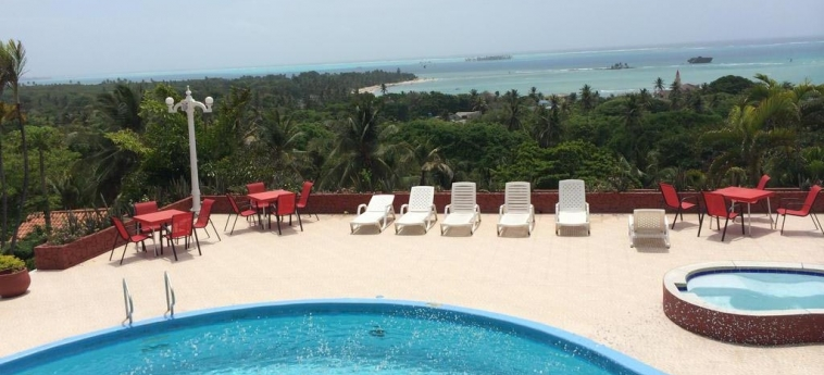Hotel Sol Caribe Campo: Außenschwimmbad SAN ANDRES INSEL