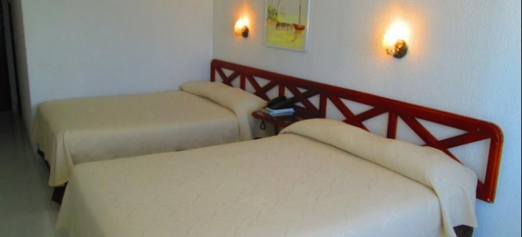 Hotel Calypso Beach Welcome: Chambre jumeau SAN ANDRES ISLAND