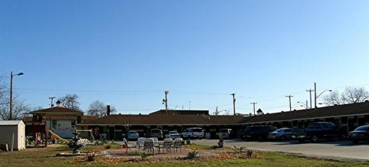 Hotel Alamo Inn Motel: Entrata SAN ANTONIO (TX)