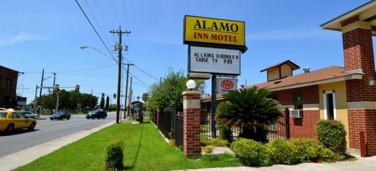 Hotel Alamo Inn Motel: Esterno SAN ANTONIO (TX)