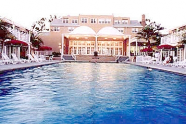 Hotel Lafayette: Cour de Recreation SAN DIEGO (CA)