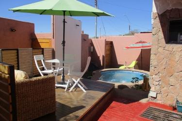 Apart Hotel Parina Atacama: Terrace / Véranda SAN PEDRO DE ATACAMA