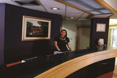 Hotel Terraza: Lobby SAN SALVADOR