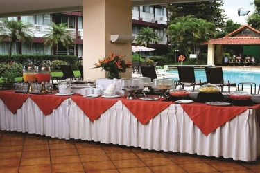 Hotel Terraza: Restaurant SAN SALVADOR