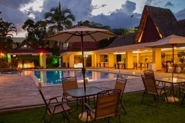 Hotel Terraza: Schwimmbad SAN SALVADOR