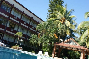 Hotel Terraza: Swimming Pool SAN SALVADOR