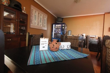 Hotel Andoria: Außen SAN SALVADOR