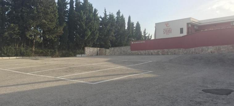 Hotel Ciuri Di Badia: Parkplatz SAN VITO LO CAPO - TRAPANI