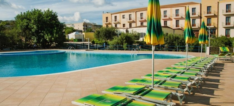 Villa Zina Park Hotel: Solarium SAN VITO LO CAPO - TRAPANI