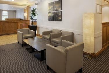 Hotel Holiday Inn Derby Nottingham M1 Jct25: Hall d'entrée Sandiacre