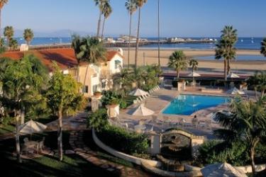 Hotel Harbor View Inn-Santa Barbara: Außenschwimmbad SANTA BARBARA (CA)