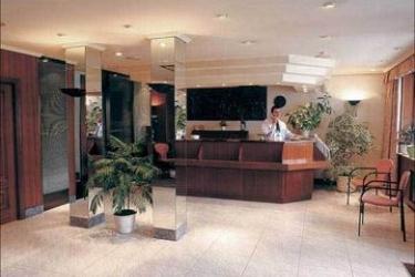 Hotel Los Angeles: Lobby SANTANDER