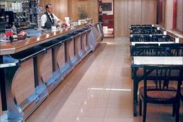 Hotel Los Angeles: Lounge Bar SANTANDER