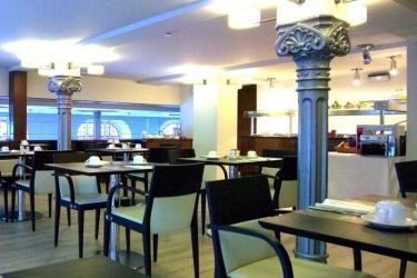 Hotel Abba Santander: Restaurante SANTANDER