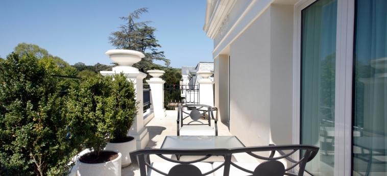 Hotel Castilla Termal Balneario De Solares: Terrazza SANTANDER