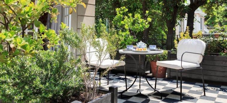 Hotel Boutique Le Reve: Garden SANTIAGO DE CHILE