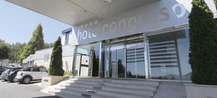 Hotel Congreso: Eingang SANTIAGO DE COMPOSTELA