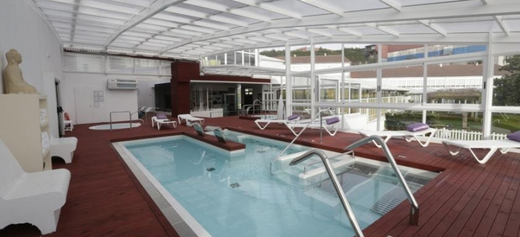 Hotel Congreso: Innenschwimmbad SANTIAGO DE COMPOSTELA