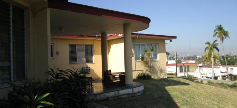 Hotel Villa Gaviota Santiago: Außen SANTIAGO DE CUBA